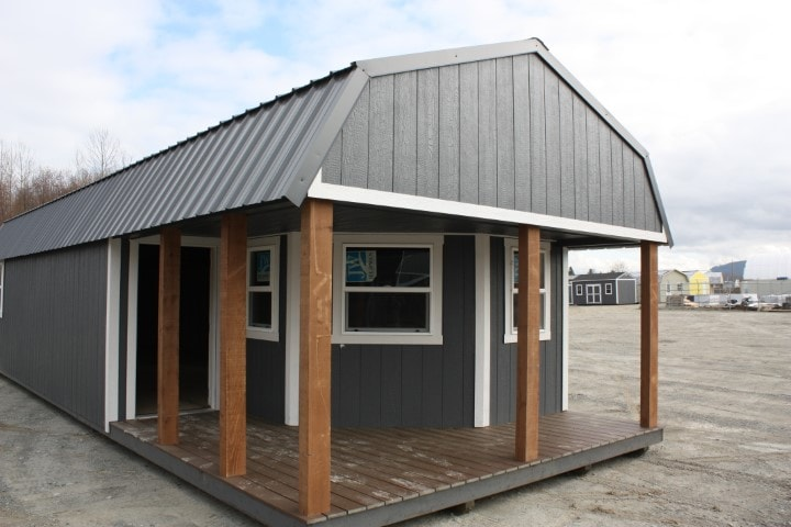 The Elliott Bay Wrap Around Cabin | Heritage Portable Buildings | washington