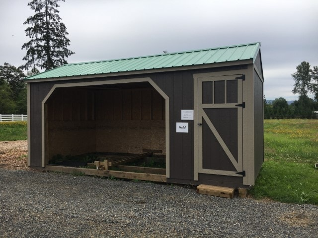 The Larrabee Horse Barn | Heritage Portable Buildings | Washington