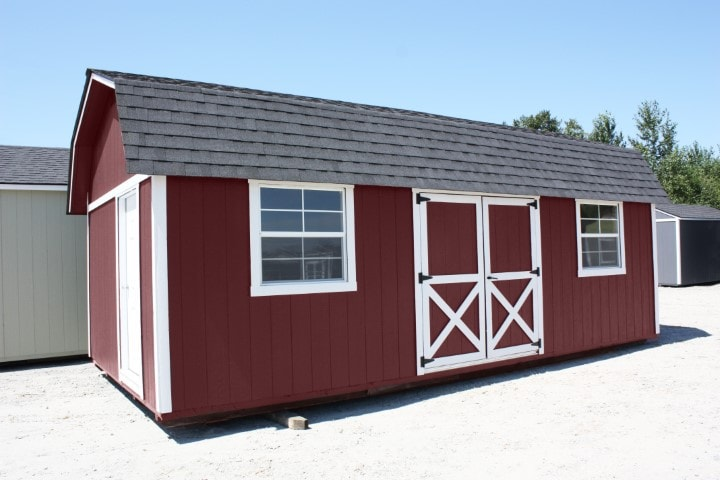 The Rainier Side Lofted Shed | Heritage Portable Buildings