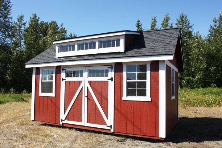 The Shaw Island Red | Heritage Portable Buildings | Washington