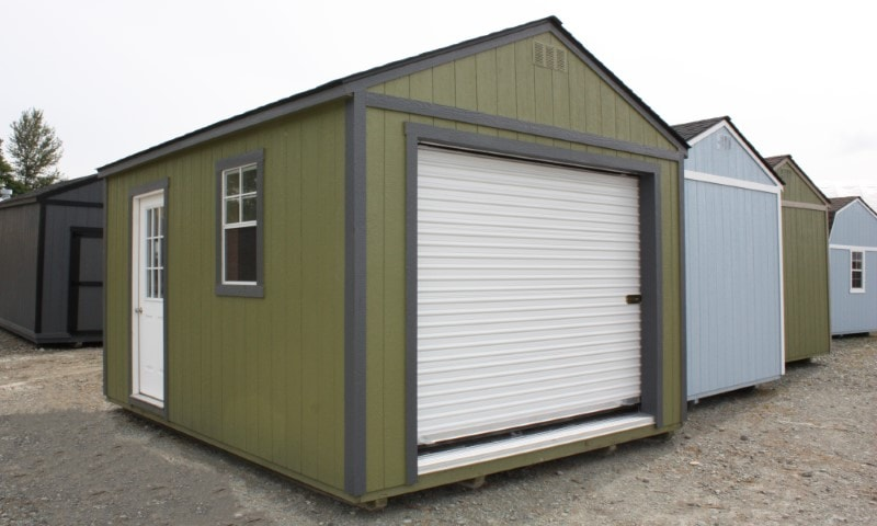 The Olympic Garage | Heritage Portable Buildings | Washington