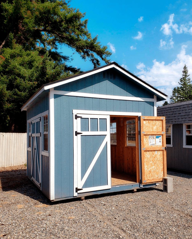 Heritage Portable Buildings | Blue Shed | Washington