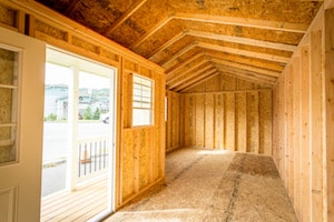 interior of The Birch Bay 2 | Heritage Portable Buildings