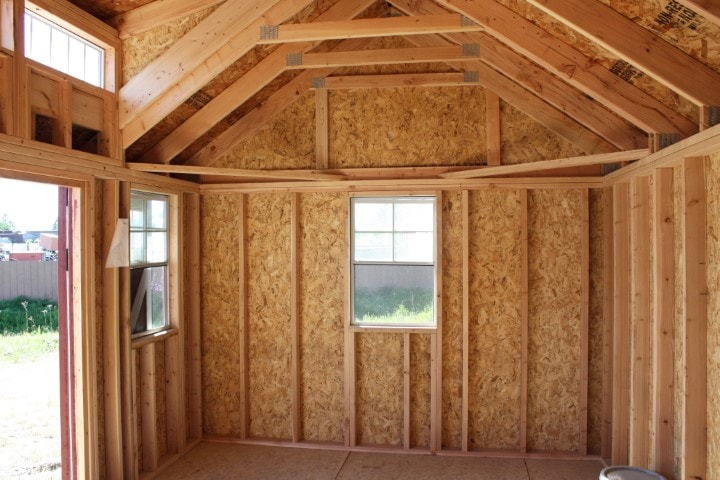 interior of The Birch Bay 3 | Heritage Portable Buildings