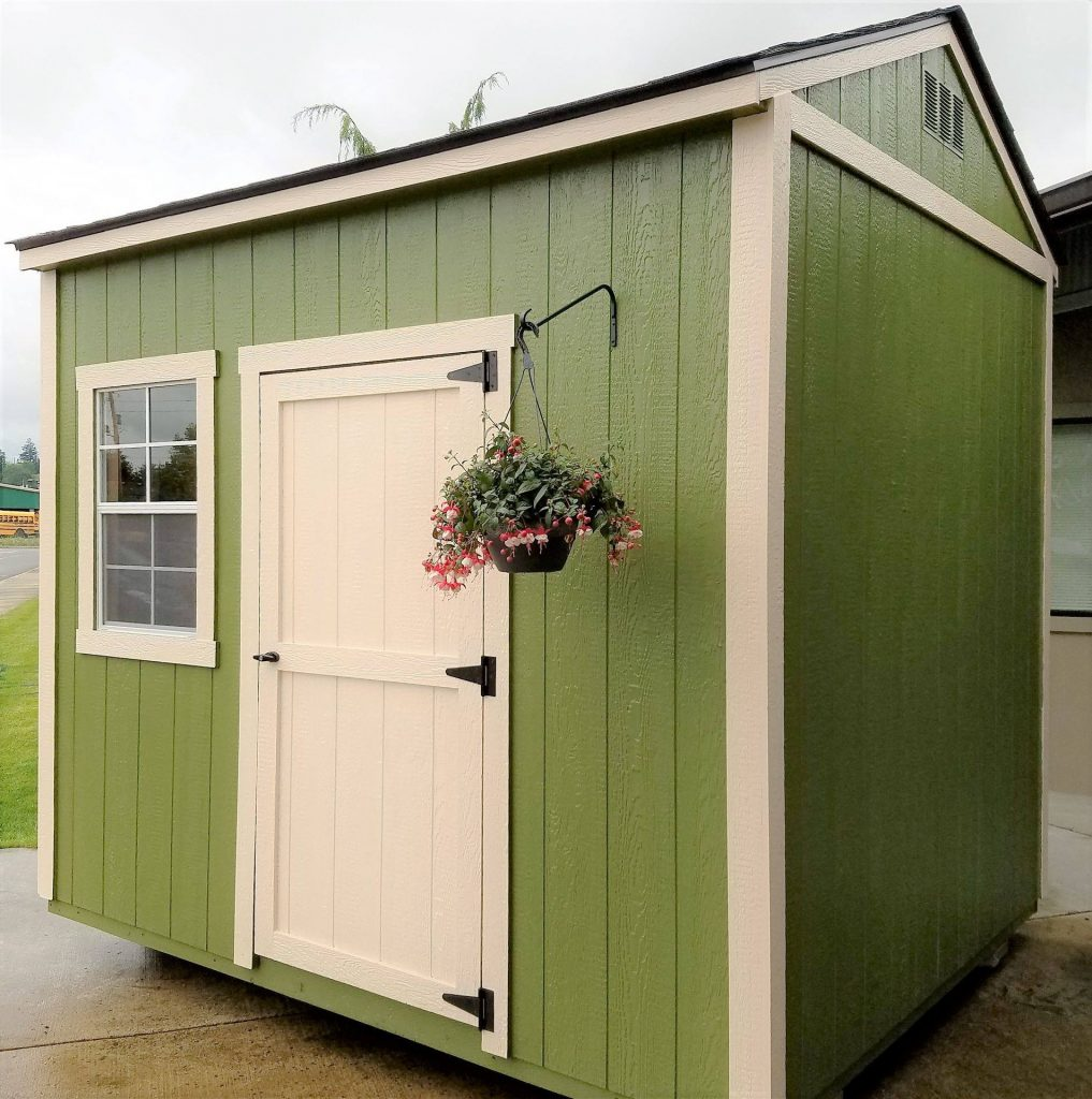 Green Garden Shed | Heritage Portable Buildings | Washington