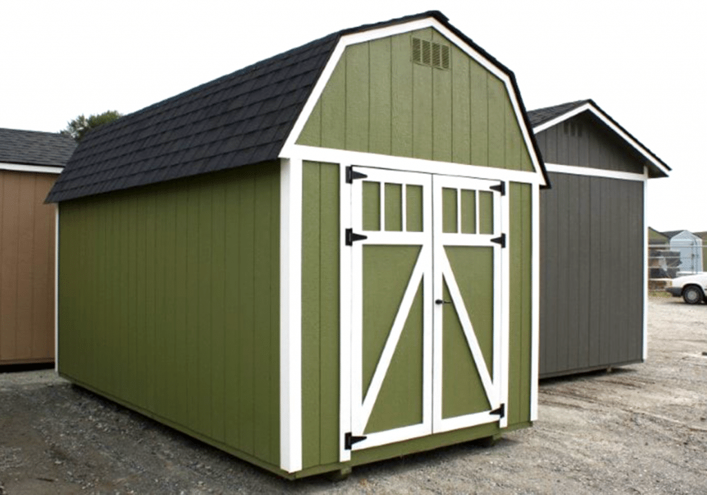 Heritage Portable Buildings | The Mt. Baker | Green Shed
