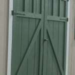 Lofted Storage Shed | Door Styles | Heritage | Heritage Portable