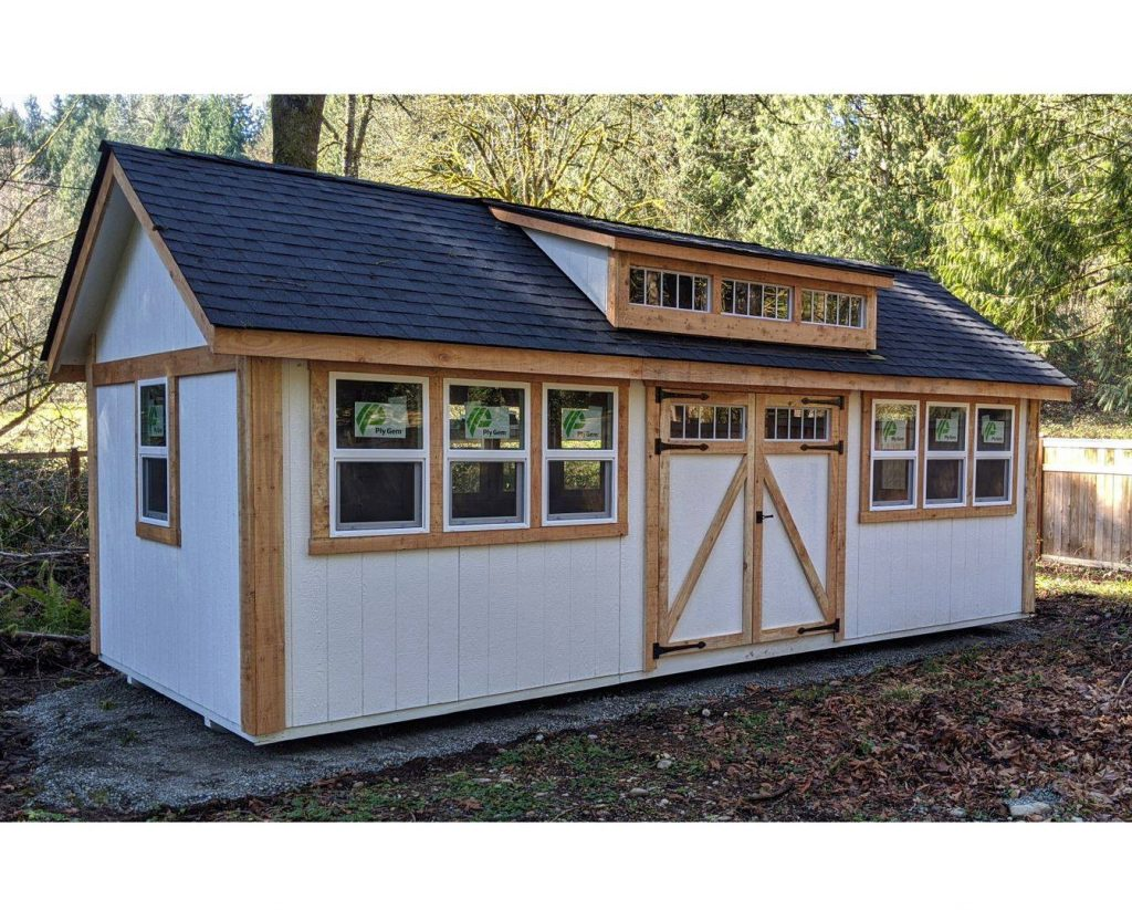 Building with Dormer | Heritage Portable Buildings | Orcas Island | Washington