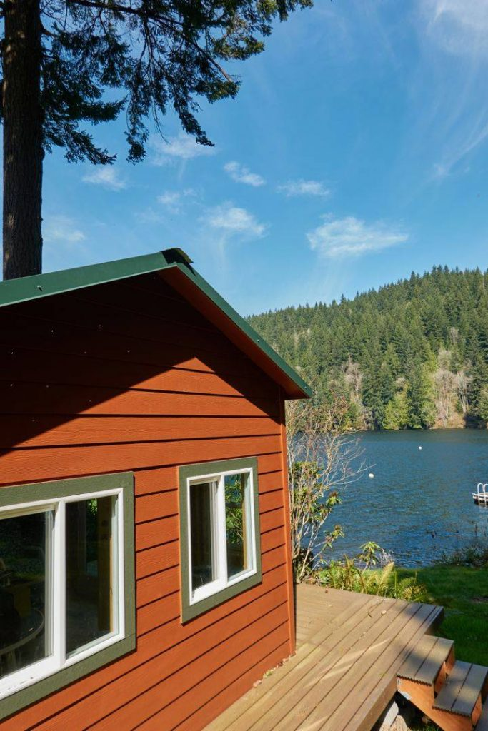 Lakeside Cabin Retreat | Heritage Portable Buildings | Woodinville | Washington