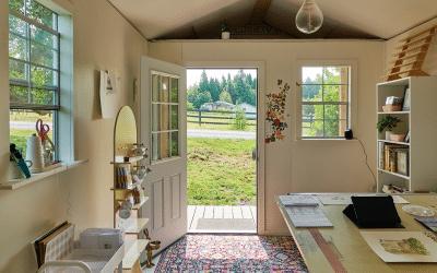 Customer Q&A: How Mary Morris Ordered a Salon and Got an Art Studio