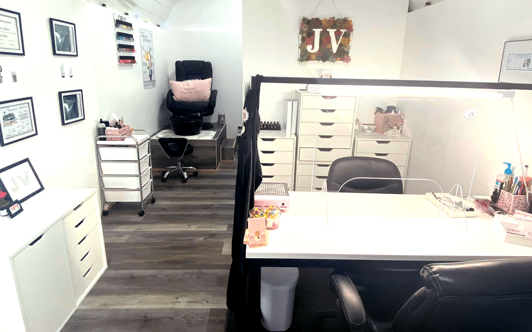 Customer Q&A: How Jaden Vlach Turned a Heritage Shed into a Beautiful Nail Salon