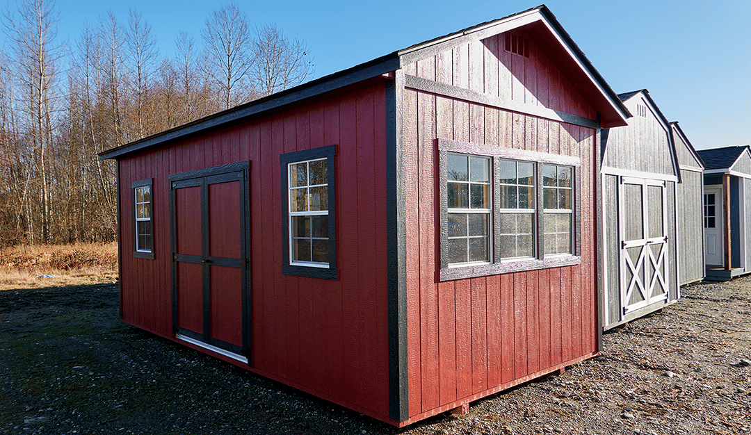 Having trouble choosing between wood sheds? Learn about our most popular design.