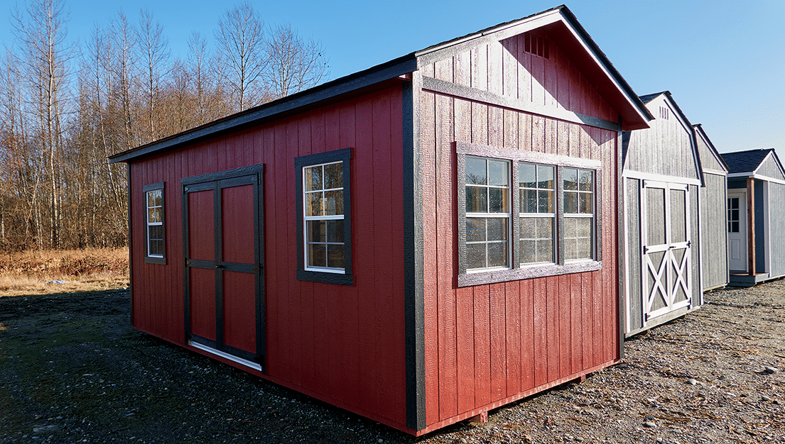 The La Conner | Wood Shed | Backyard Shed